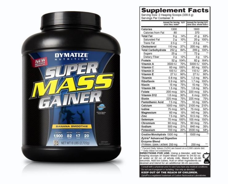 Dymatize Super Mass Gainer 2722г.