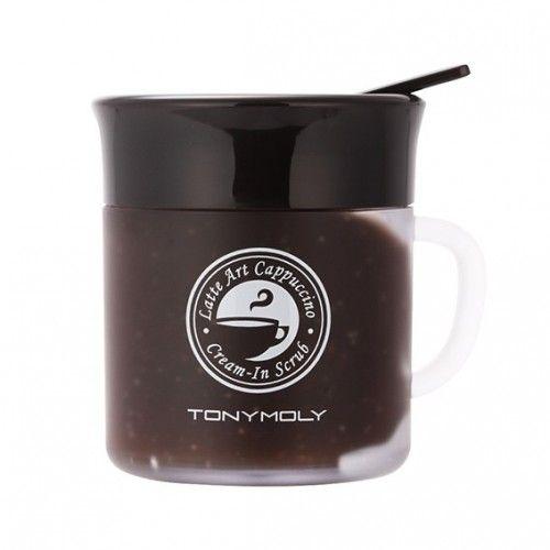 Latte Art Scrub - Крем-скраб для лица с ароматом капучино