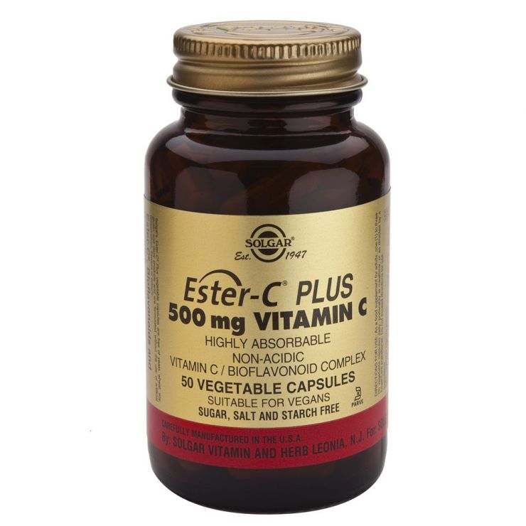 СОЛГАР Эстер-С плюс витамин C 500 мг капс. №50