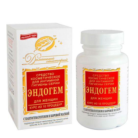 Средство интимной гигиены «Эндогем» для женщин (10 процедур)