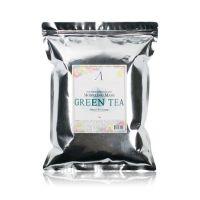 Маска альгинатная с экстрактом зеленого чая успокаивающая - Anskin