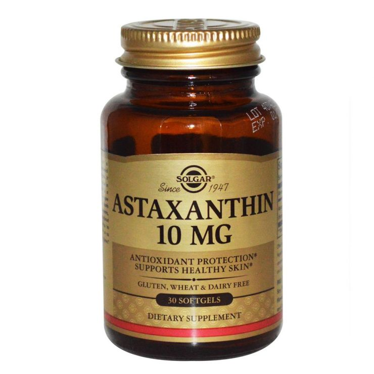 Астаксантин 10 мг. - 30 капс