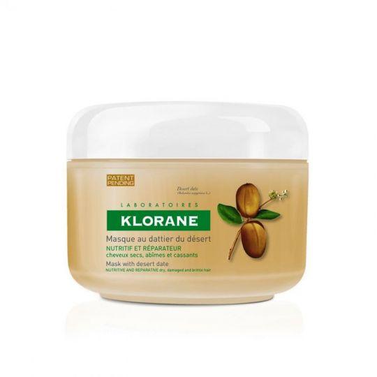 Клоран Маска для сухих, ломких и поврежденных волос с маслом финика