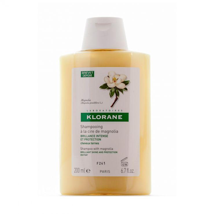 Клоран Шампунь с воском магнолии для интенсивфного блеска и защиты волос