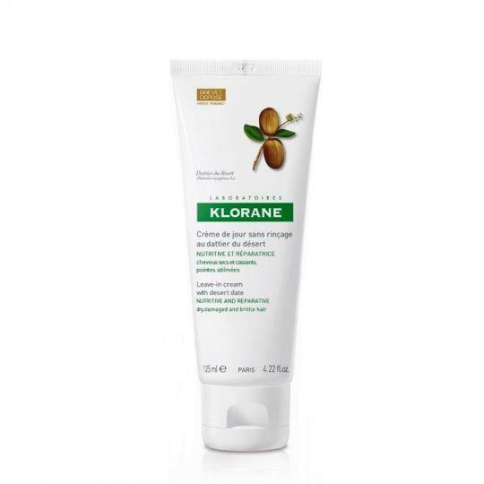 Клоран Крем с маслом финика питательный дневной для сухих, ломких и повреждённых волос