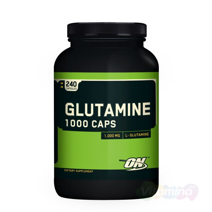 Глютамин ON Glutamine 1000, капсулы
