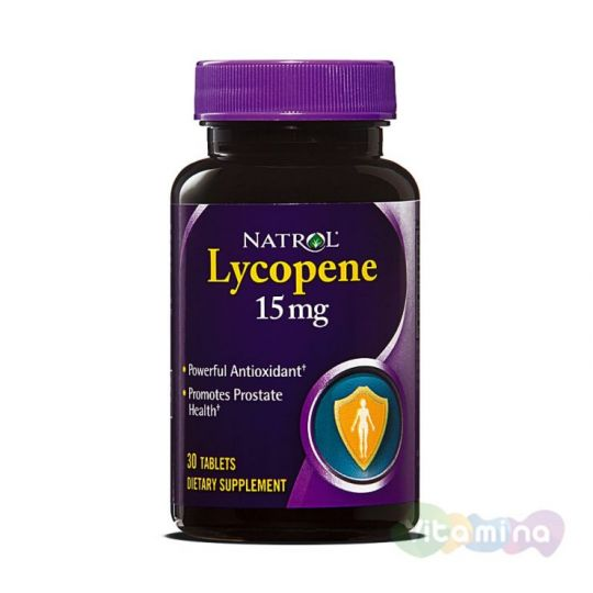 Natrol Ликопин 15 мг (Lycopene)