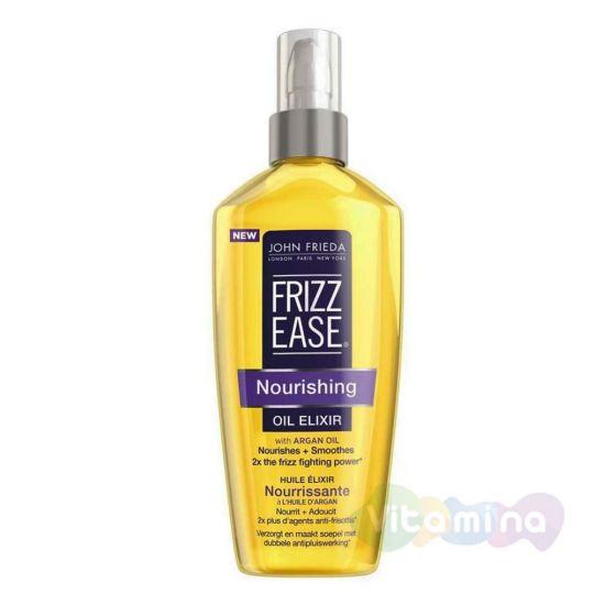 John Frieda Питательное масло-эликсир для волос Frizz Ease