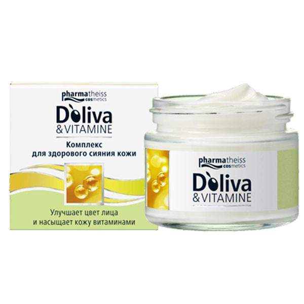Долива комплекс для восстановления и сияния кожи с витаминами SPF6