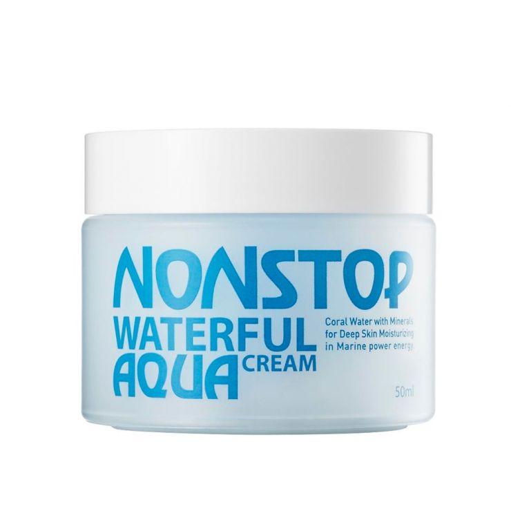 Увлажняющий крем для лица - Nonstop Waterful Aqua Cream