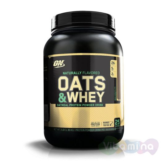 Optimum Nutrition 100% Natural Oats and Whey 3lb (1.36 кг)