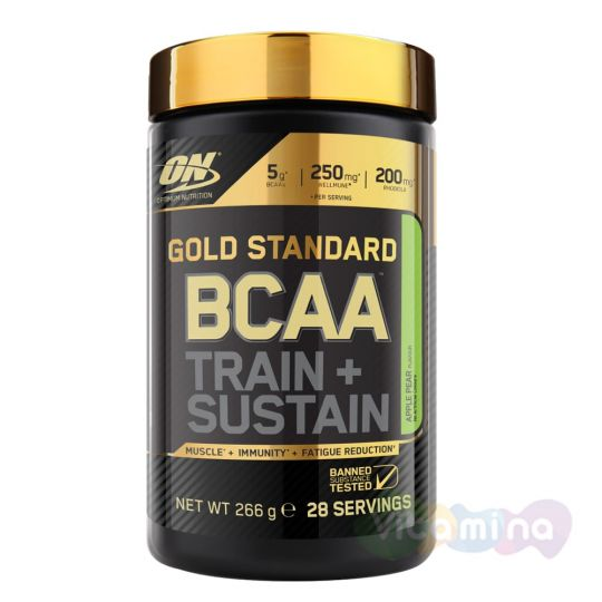 Optimum Nutrition Gold Standard BCAA 28 порций (serv)