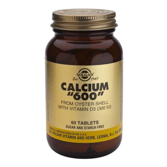 Кальций 600 из раковин устриц (60 таблеток)