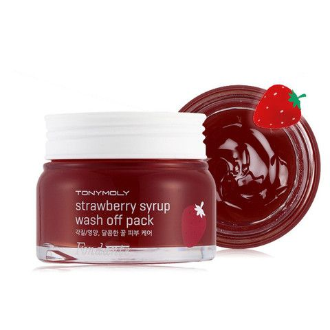 Fondante Strawberry Syrup Wash Off Pack - Клубничная маска для лица