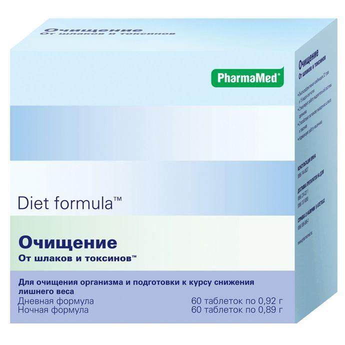 Диет формула очищение от шлаков и токсинов N60Х2 табл