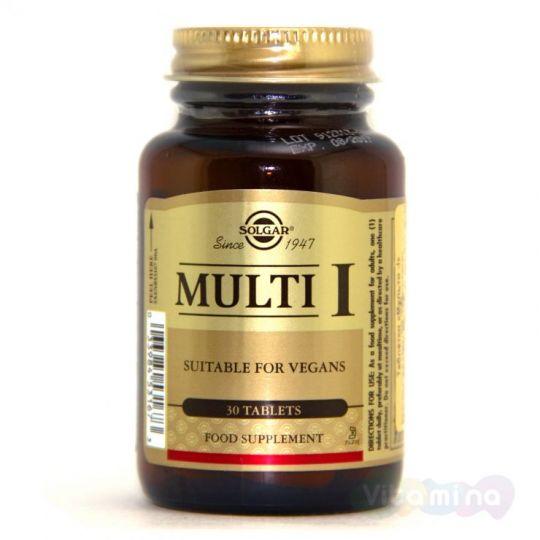 Солгар Multi I, 30 табл.