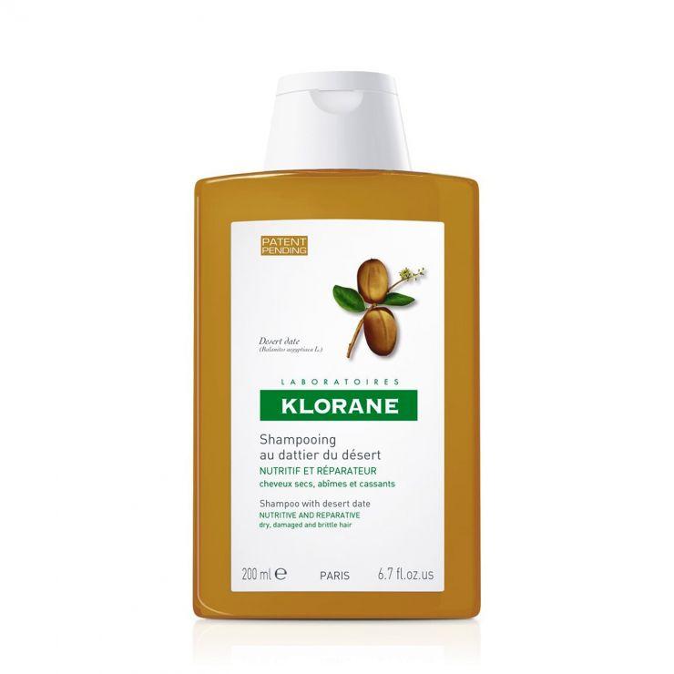 Клоран Шампунь с маслом финика питательный для сухих, ломких и повреждённых волос