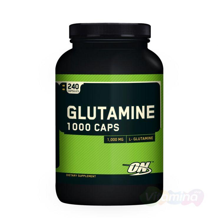 Глютамин ON Glutamine 1000, капсулы