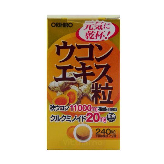 Orihiro Экстракт куркумы, 240 таб