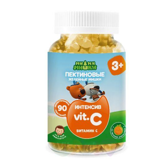 Ми-ми-мишки интенсив Витамин С жев. пастилки пектиновые, 90 шт.
