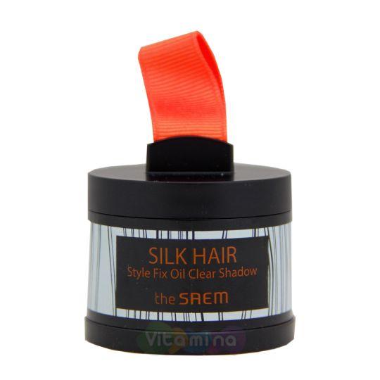 The Saem Silk Hair Style Fix Oil Clear Shadow Пудра для волос очищающая