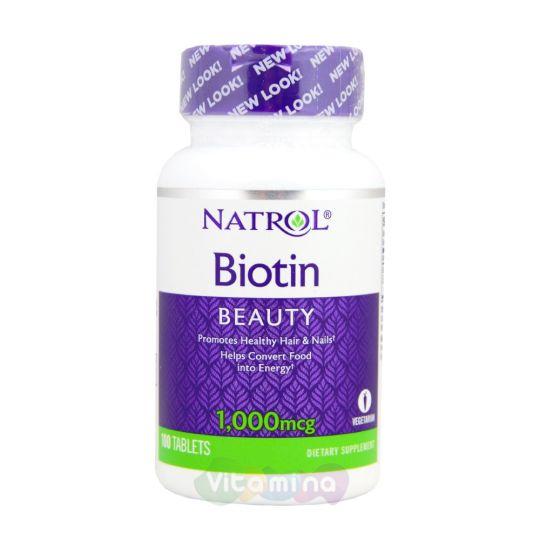 Natrol Biotin 1000 мкг